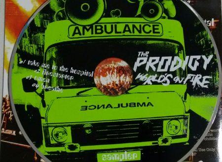 THE PRODIGY – THE WORLD'S ON FIRE (ALBUM SAMPLER 4 TR)