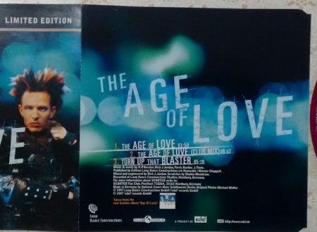 SCOOTER – THE AGE OF LOVE (CDS 3 TR LIMITED EDITION)