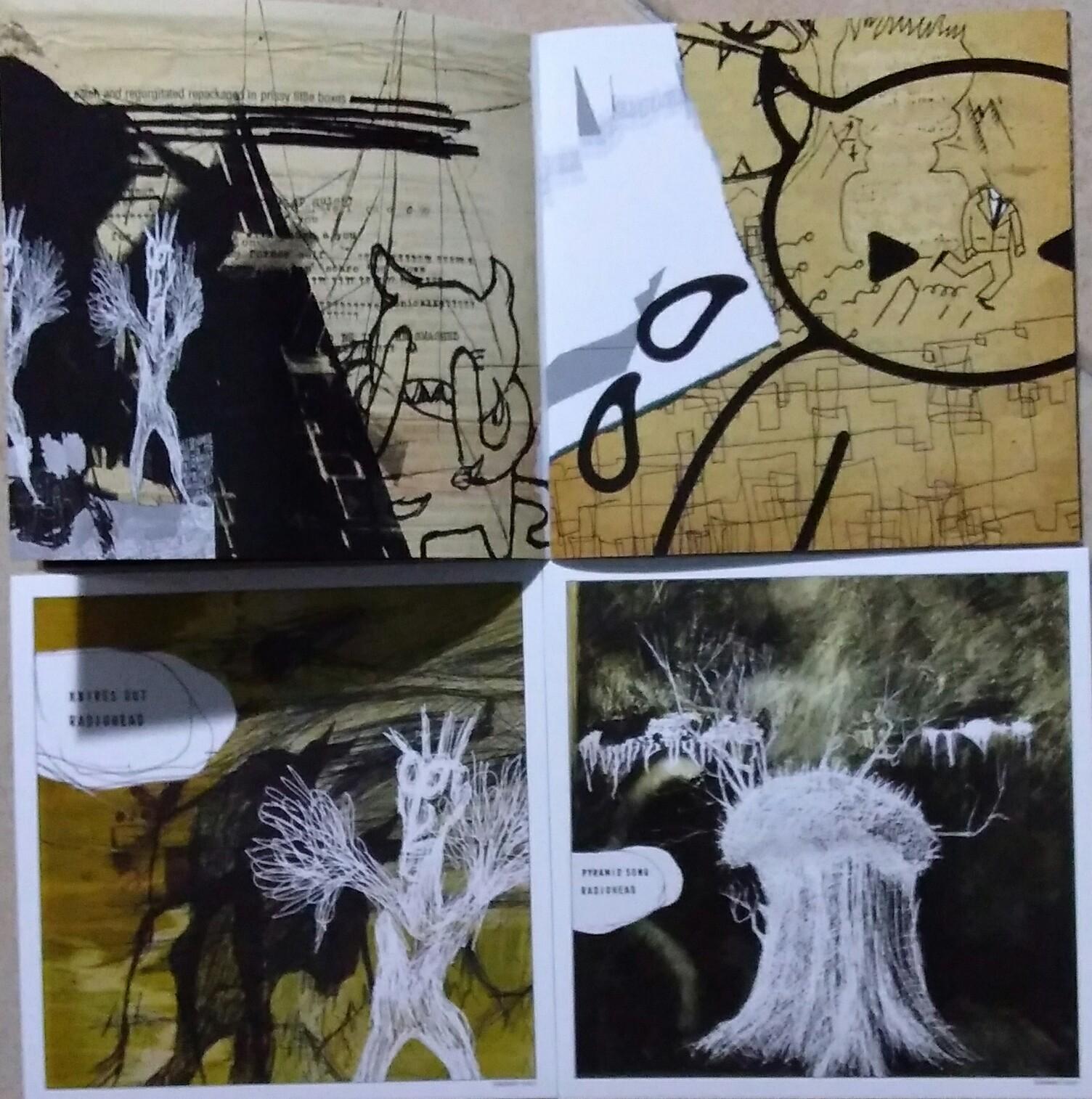 RADIOHEAD – AMNESIAC (SPECIAL COLLECTORS EDITION 2CD + DVD ...