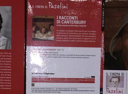 PIER PAOLO PASOLINI – I RACCONTI DI CANTERBURY
