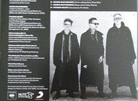 DEPECHE MODE – GOING BACKWARDS (REMIXES) CDS (8 TR)