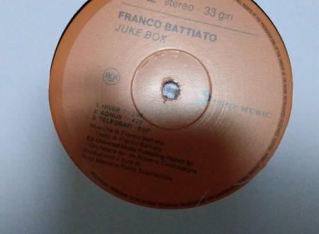 FRANCO BATTIATO – JUKE BOX (LP)