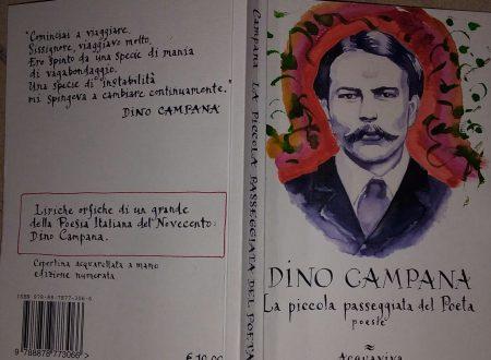 DINO CAMPANA – LA PICCOLA PASSEGGIATA DEL POETA