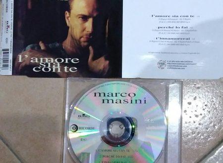 MARCO MASINI – L'AMORE SIA CON TE (CDS 3 TR)