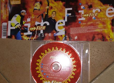SCOOTER – FIRE (CDS 5 TR RED DISK)