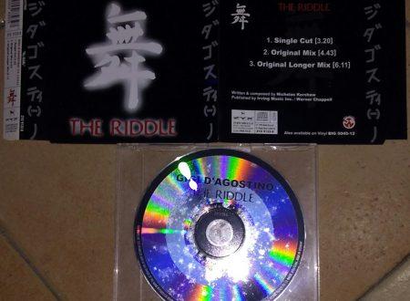 GIGI D'AGOSTINO – THE RIDDLE (CDS 3 TR)