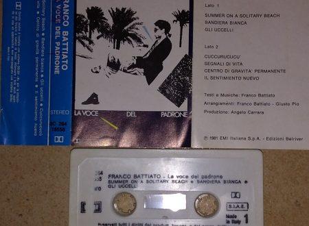 FRANCO BATTIATO – LA VOCE DEL PADRONE (MC)