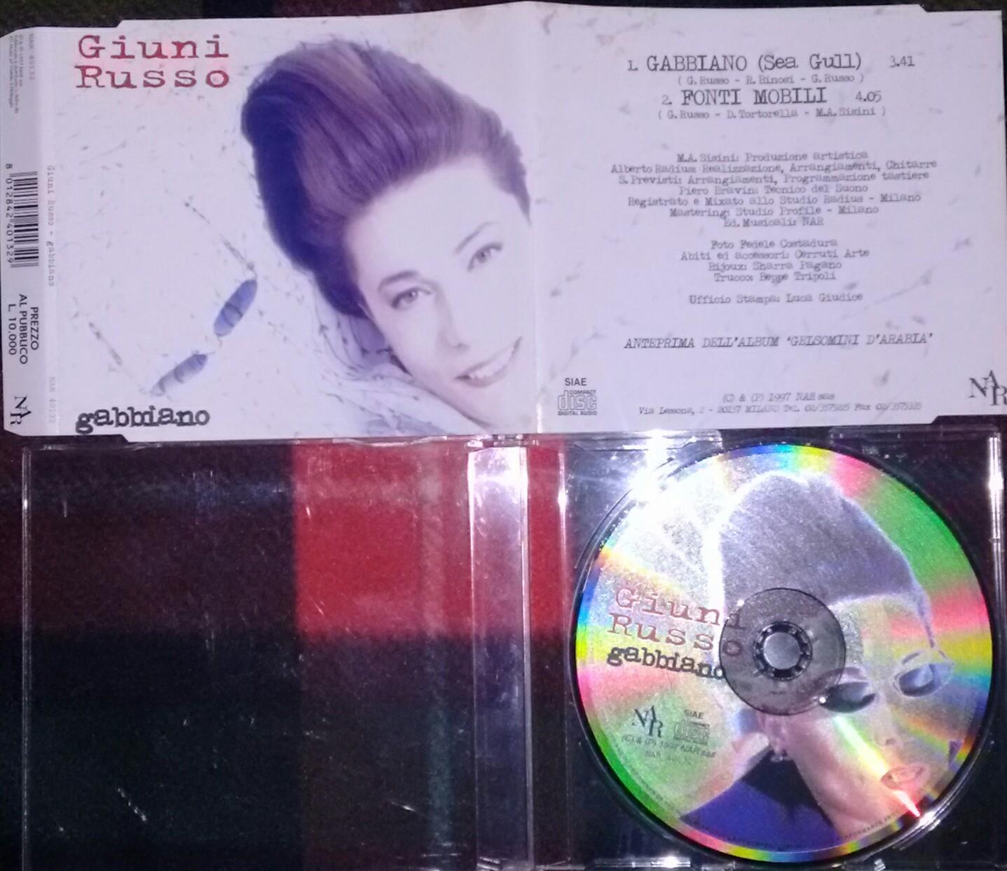 GIUNI RUSSO - GABBIANO (CDS 2 TR)