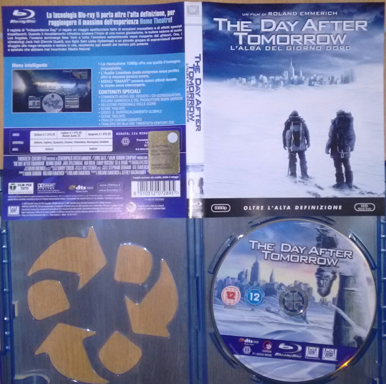 ROLAND EMMERICH – THE DAY AFTER TOMORROW. L'ALBA DEL GIORNO DOPO