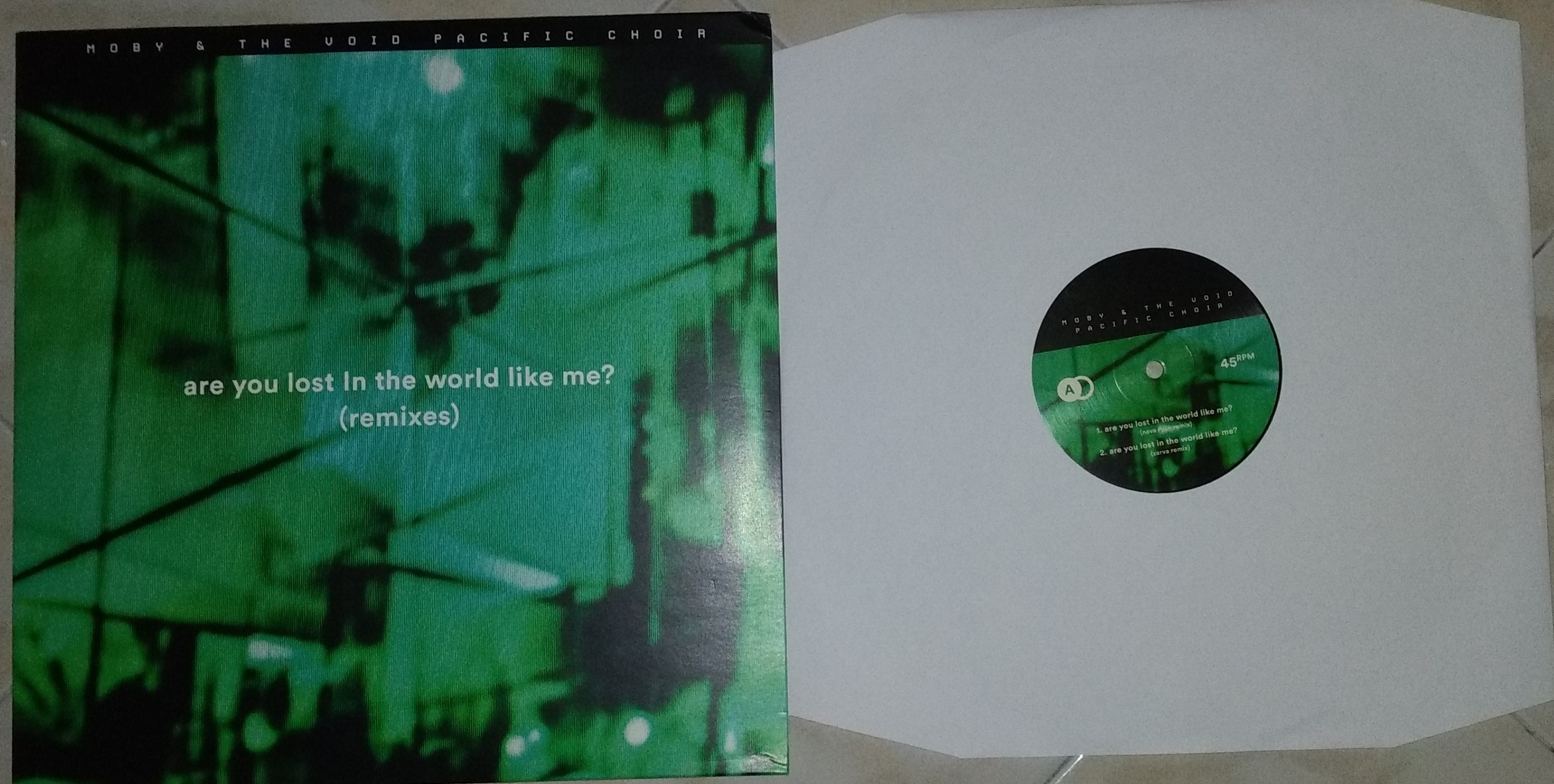 MOBY & THE VOID PACIFIC CHOIR – ARE YOU LOST IN THE WORLD LIKE ME? (REMIXES) (EP)