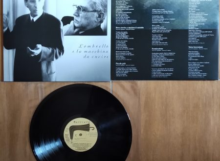 FRANCO BATTIATO – L'OMBRELLO E LA MACCHINA DA CUCIRE (LP, 2018)